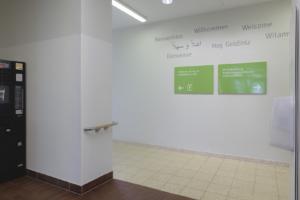 Evangelische Elisabeth Klinik Berlin | Signaletik Innenraum