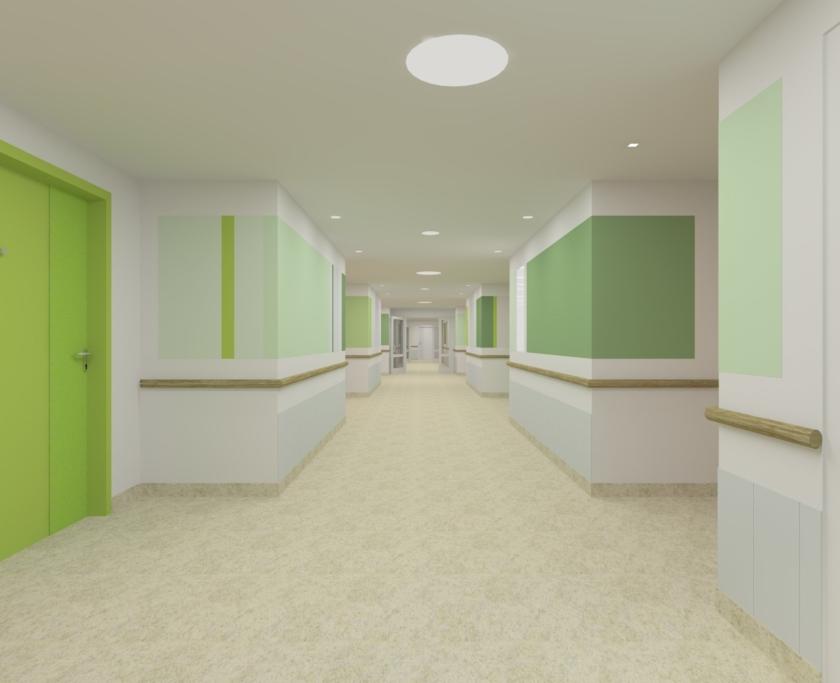 Hub 3D Corridor View B 160614