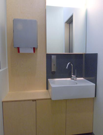 WC im MetaHaus